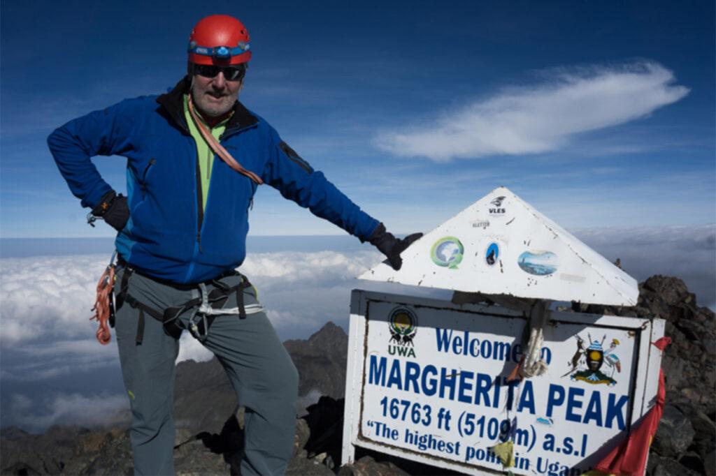 Výstup na nejvyšší vrchol Mount Stanley je náročný ale krásný