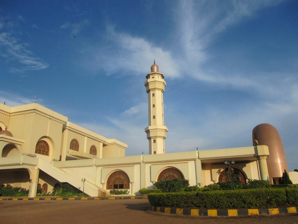 Národní mešita v Kampale