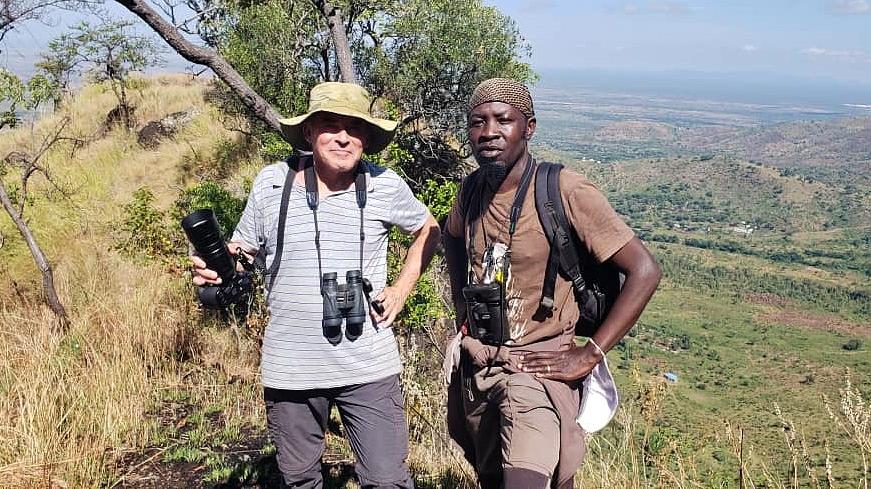 S Tonym se v Ugandě neztratíte :-)